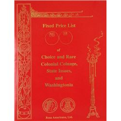 Rosa Americana Fixed Price Catalogues