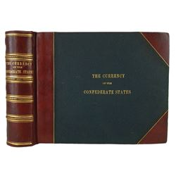 Thian Master Album with 297 Specimens of Confederate Currency