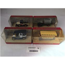 Group of Matchbox Models of Yesteryear Inc. 1907 Unic Taxi