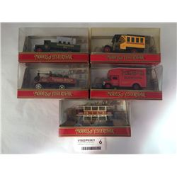 Group of Matchbox Models of Yesteryear Inc. Morris Courier