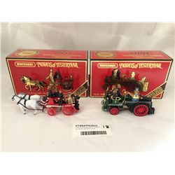 Matchbox Special Edition Models Inc. Self Propelled Fire Eng