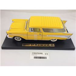 Large Scale Chevrolet 57 Nomad Die Cast Model