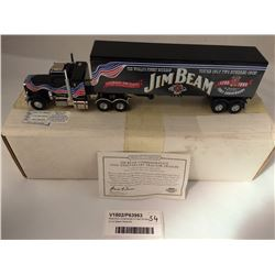 Matchbox Collectibles Di-Cast Model of Jim Beam Peterbilt