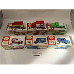 Group of Six Matchbox Collectibles Mcdonald House Models