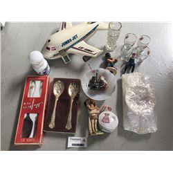 Group of Vintage Items Inc. Jumbo Jet