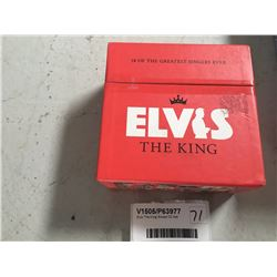 Elvis 'The King' Boxed CD Set