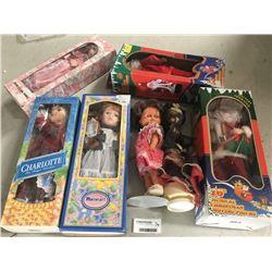 Group of Dolls Inc. Boxed Santas