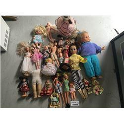 Group of Vintage Dolls Inc. West German