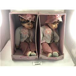 Two Heirloom Collectable Dolls