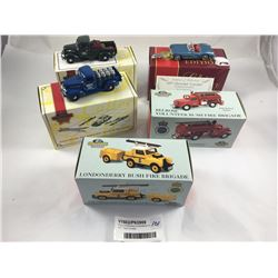 Group of Matchbox Collectables Inc. 1957 Chev Corvette