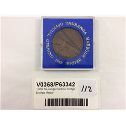 1988 Tauranga Harbour Bridge Bronze Medal