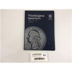 Whitman Folder of Washington Quarters 1932-47 Inc. Coins