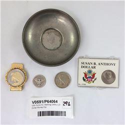 USA Coins Inc. Walking Liberty 1/2 Dollar Money Clip