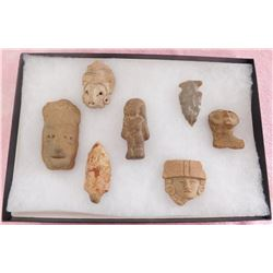 Authentic Pre-Columbian Relics