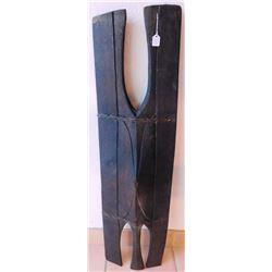 Early Wood War Shield w/COA