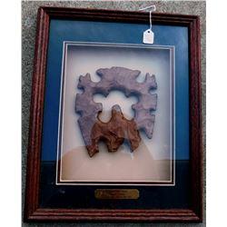 Framed Copy of Mayan Eccentric