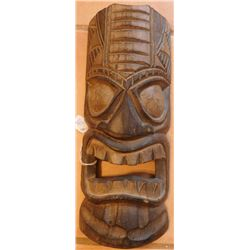 Polynesian Wood Mask