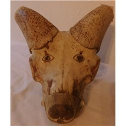 Carved Animal Skull
