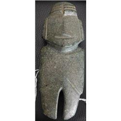 Mezcala Figure w/Helm COA