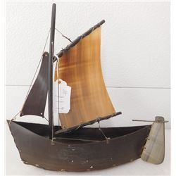 Eskimo Toy Boat