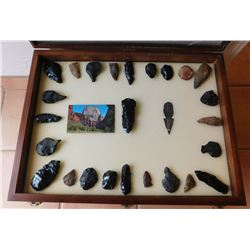 Collection of Paleo Artifacts