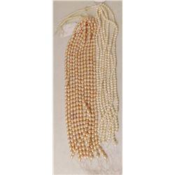 18 Strings of Freshwater Pearls