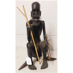 African Pygmy Carving