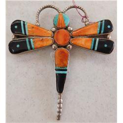 Zuni Dragonfly Pin or Pendant