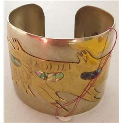 Mexican Mixed Metal Cuff
