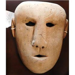 Old Bering Sea Wood Mask