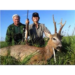 1 or 2 Hunters, 3 Days Hunting, 3 Days Sightseeing, Serbia Roe Buck with Safari Unlimited