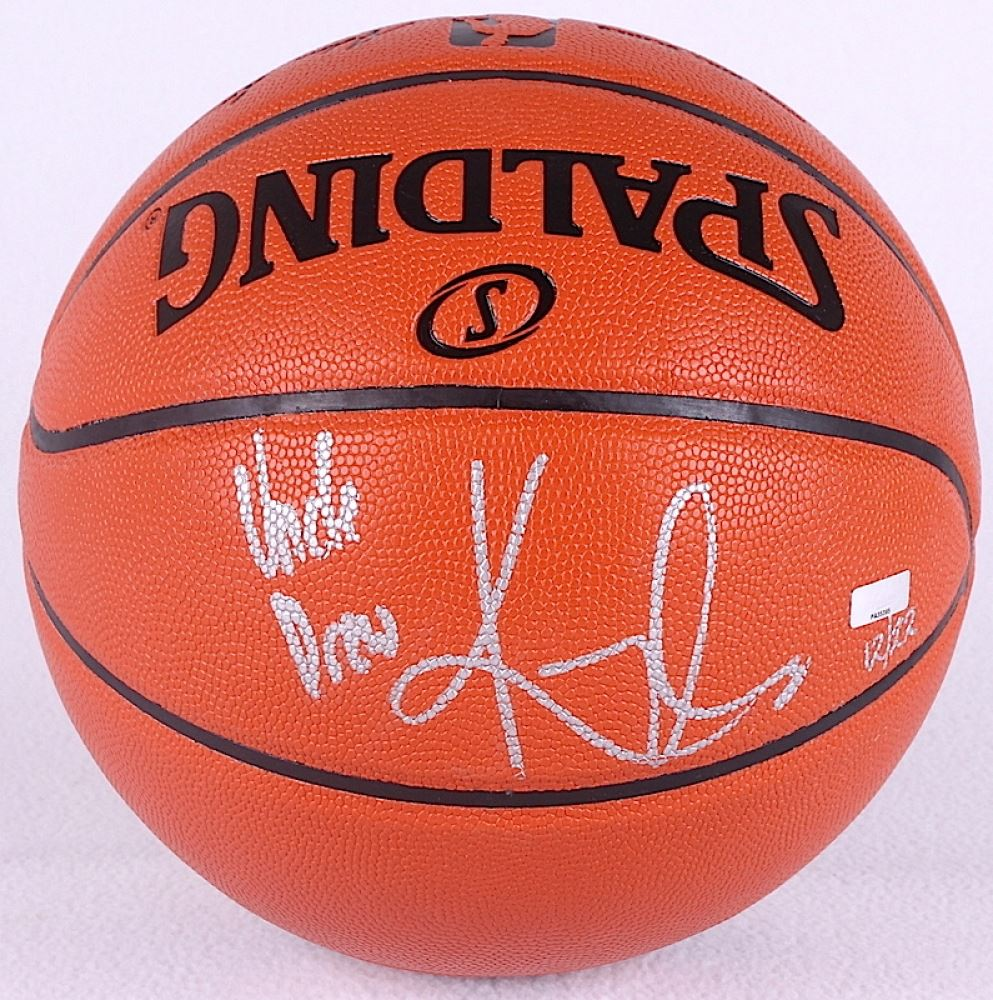 promo code 02d3f db126 Kyrie Irving Signed LE NBA Game Ball Series Basketball ...