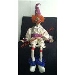 SCARY MOVIE 2 SCREEN USED & MATCHED POLTERGEIST EVIL CLOWN PUPPET