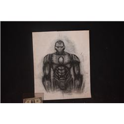 IRON MAN ORIGINAL STUDIO HAND DRAWN CONCEPT ART #1
