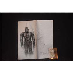 IRON MAN ORIGINAL STUDIO HAND DRAWN CONCEPT ART #3