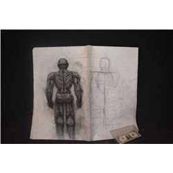IRON MAN ORIGINAL STUDIO HAND DRAWN CONCEPT ART #4