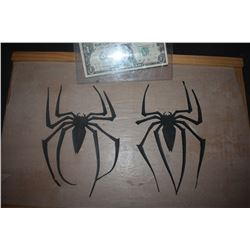 SPIDER-MAN 2 HERO SUIT CHEST GLYPHS PRODUCTION MADE PAIR