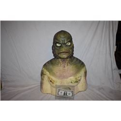 CREATURE FROM THE BLACK LAGOON LIKE THE QUEST RANA SCREEN USED SILICONE MASK 11