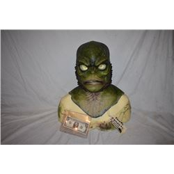 CREATURE FROM THE BLACK LAGOON LIKE THE QUEST RANA SCREEN USED SILICONE MASK 12