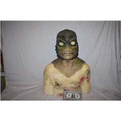 CREATURE FROM THE BLACK LAGOON LIKE THE QUEST RANA SCREEN USED SILICONE MASK 13