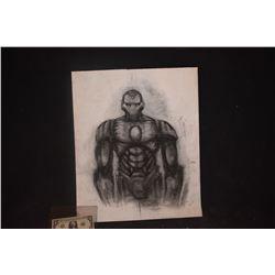 IRON MAN ORIGINAL STUDIO HAND DRAWN CONCEPT ART 2
