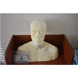Z-CLEARANCE DISPLAY BUST FOR MASKS HATS WIGS SCULPTING ETC 2