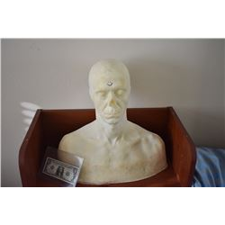 Z-CLEARANCE DISPLAY BUST FOR MASKS HATS WIGS SCULPTING ETC 5