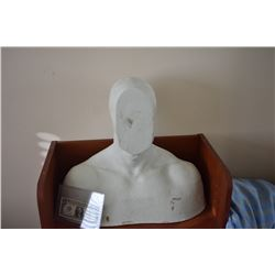Z-CLEARANCE DISPLAY BUST FOR MASKS HATS WIGS SCULPTING ETC 6