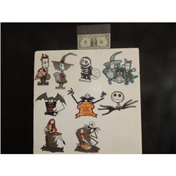 ZZ-CLEARANCE NIGHTMARE BEFORE CHRISTMAS WHOLESALE LOT OF VINTAGE STICKERS $1.00 EACH!