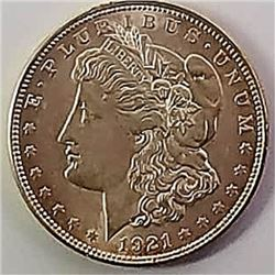 Morgan Silver Dollar 1921 D