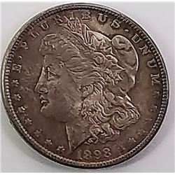 Morgan Silver Dollar 1898 O