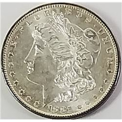 Morgan Silver Dollar 1881 S