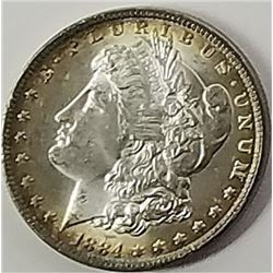 Morgan Silver Dollar 1884 O