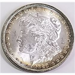 Morgan Silver Dollar 1885.